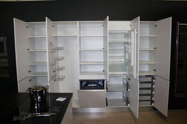 Hoogglans Keuken Wit Aanbieding : Showroomuitverkoop nl Design Eilandkeuken hoogglans