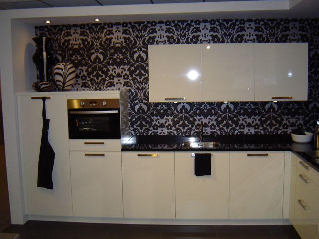 Keuken Zwart Werkblad : moderne keuken met granieten werkblad 43042 complete moderne keuken