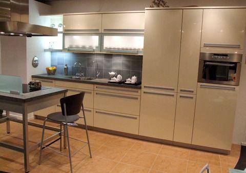 Showroommodel keuken hoogglans crème [49223]