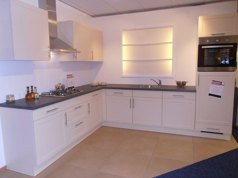 Landelijke keuken in de kleur vanille 50607 - Kleur voor de keuken ...