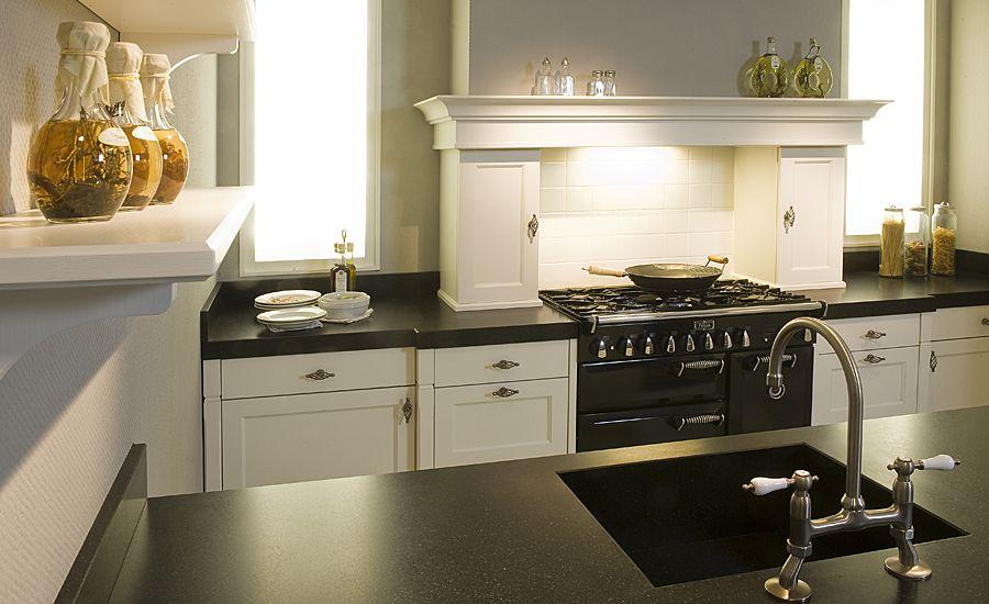 Keuken Met Eiland Landelijk : .nl