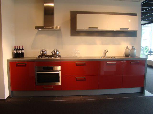 Keuken Rood Wit : .nl