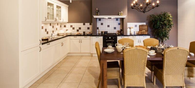 Landelijke keuken met granieten werkblad 53942 - Granieten werkblad keuken ...