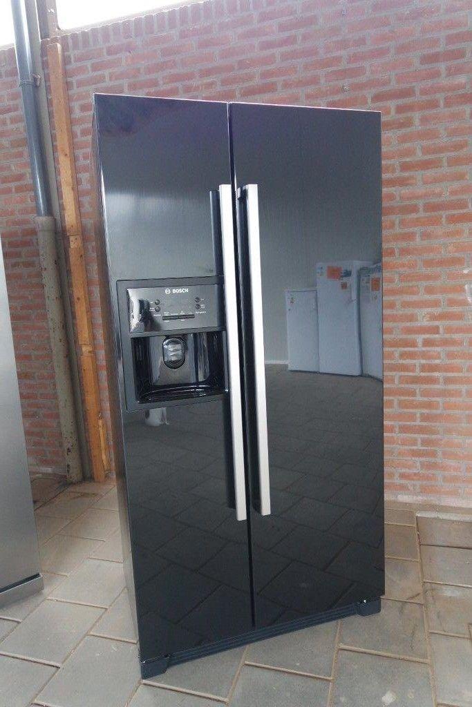 Showroomuitverkoop nl     ATAG Amerikaanse koelkast RVS [55759]