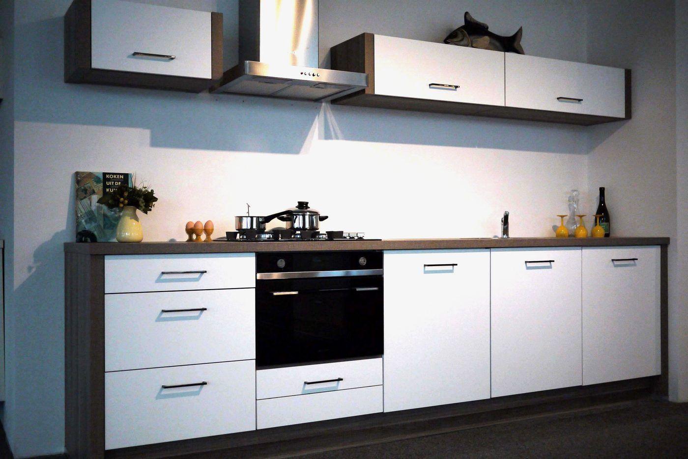 Keuken meter rechte keuken meter great moderne witte rechte