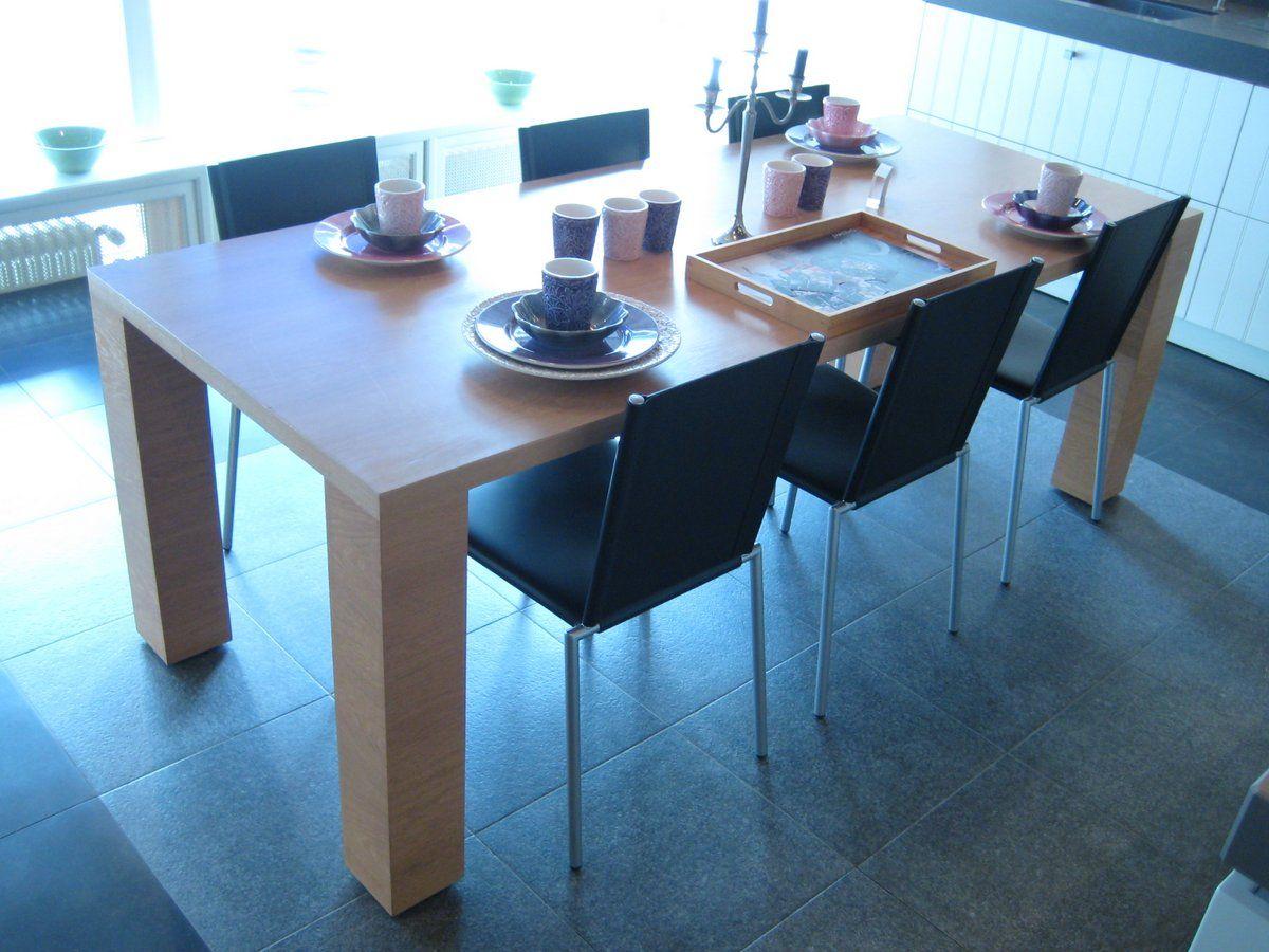 Eettafel modern 220 90 56238 - Moderne eettafel ...