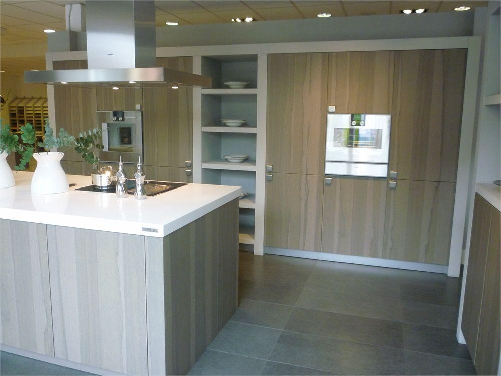 Landelijk modern hout met wit for Keuken landelijk modern