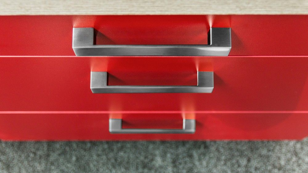 Rode Keuken Te Koop : rechte rode keuken 270 cm 54748 mooi afgewerkte rode keuken model